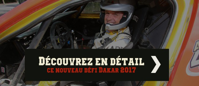 Découvrez en détail ce nouveau défi Dakar 2017