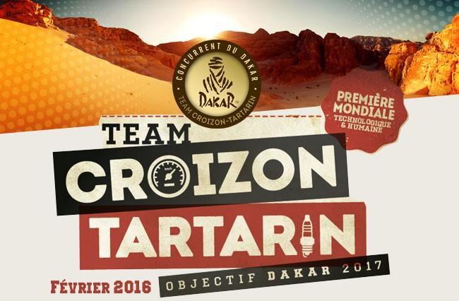 Dakar 2017- Team Croizon Tartarin