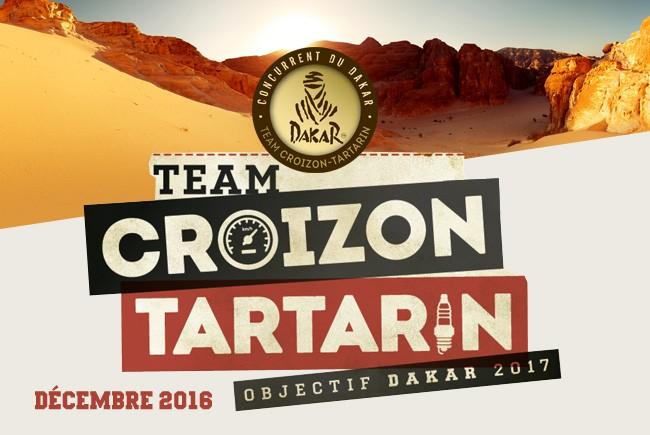 Team Croizon - Tartarin / Objectif DAKAR 2017