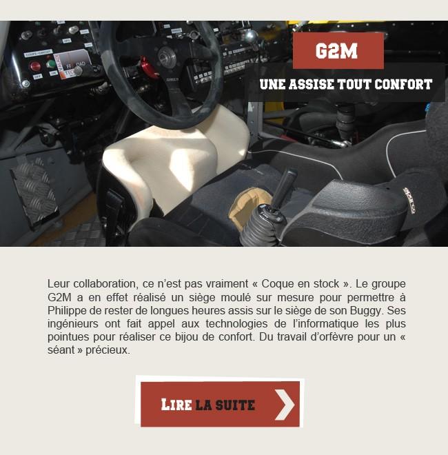 G2M - Une assise tout confort
