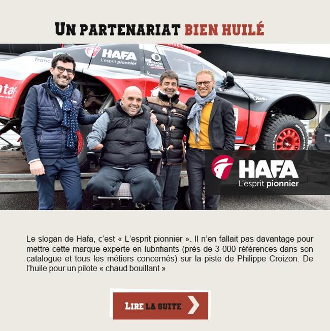 Hafa - Un partenariat bien huilé